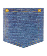 Paper Silverware Denim Pocket Holder/Case of 72 - $43.53