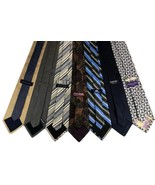7 Men's Ties Tommy Hilfiger, Land's End, Banana Republic, JOS. A. Bank, ... - $34.95