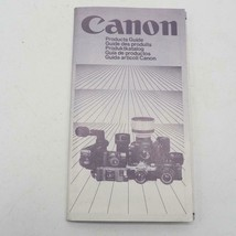Vintage Canon Camera & Lenses Product Guide Booklet 1982 - $14.84