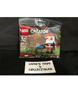 Lego Creator Poly Bag set 30573 Santa Claus Christmas building bricks pack  - $15.08