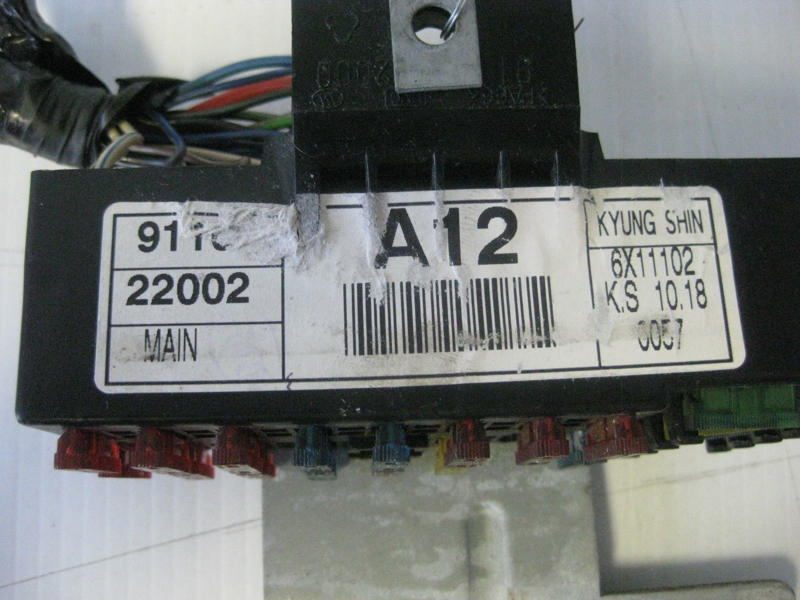 Hyundai Accent 1997 Interior Main Fuse Relay And 20 Similar Items Box Oem