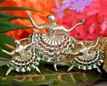 Vintage ballerina ballet dancers brooch pin rhinestones scatter set 3 thumb155 crop