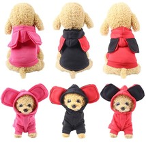 Winter Pet Dog Clothes Cartoon Dogs Pets Clothing For Dogs Coat Jacket C... - $428,32 MXN