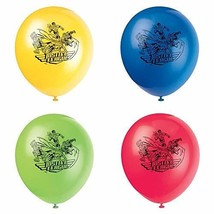 """12"""" Latex Justice League Balloons, 8ct - $5.86"""