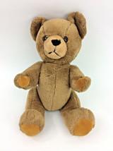 "Mary Meyer Teddy Bear Brown Jointed 18"" Plush Stuffed Animal Vintage  - $28.84"