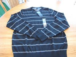 Men's Tommy Hilfiger long sleeve sweater shirt s V NECK - $45.18