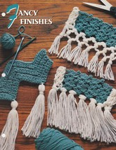 Fancy Finishes, Annie's Crochet Afghan & Quilt Pattern Club Leaflet 05-1-06 - $2.95