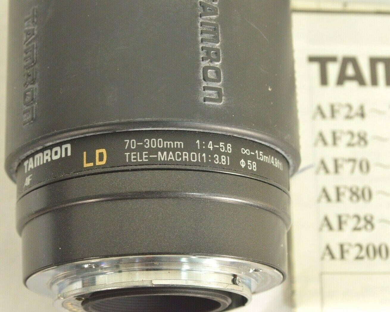 Tamron LD 70-300mm f/4.0-5.6 LD AF camera lens for Sony image 3