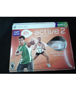 XBox 360 Active 2 Personal Trainer Heart Rate monitor & Resistance band ... - $24.99