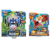 Hello Carbot Jacksuit Bang + Fero B Set Korean Transformation Action Figure Toy