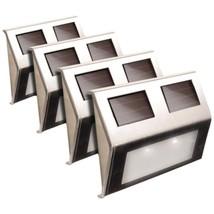MAXSA Innovations 47334-SS Solar Deck Lights, 4 pk - $93.69