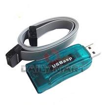 Usbasp Avr Programmer Adapter Arduino 10 Pin Cable Usb ATMEGA8 ATMEGA128 - $3.80
