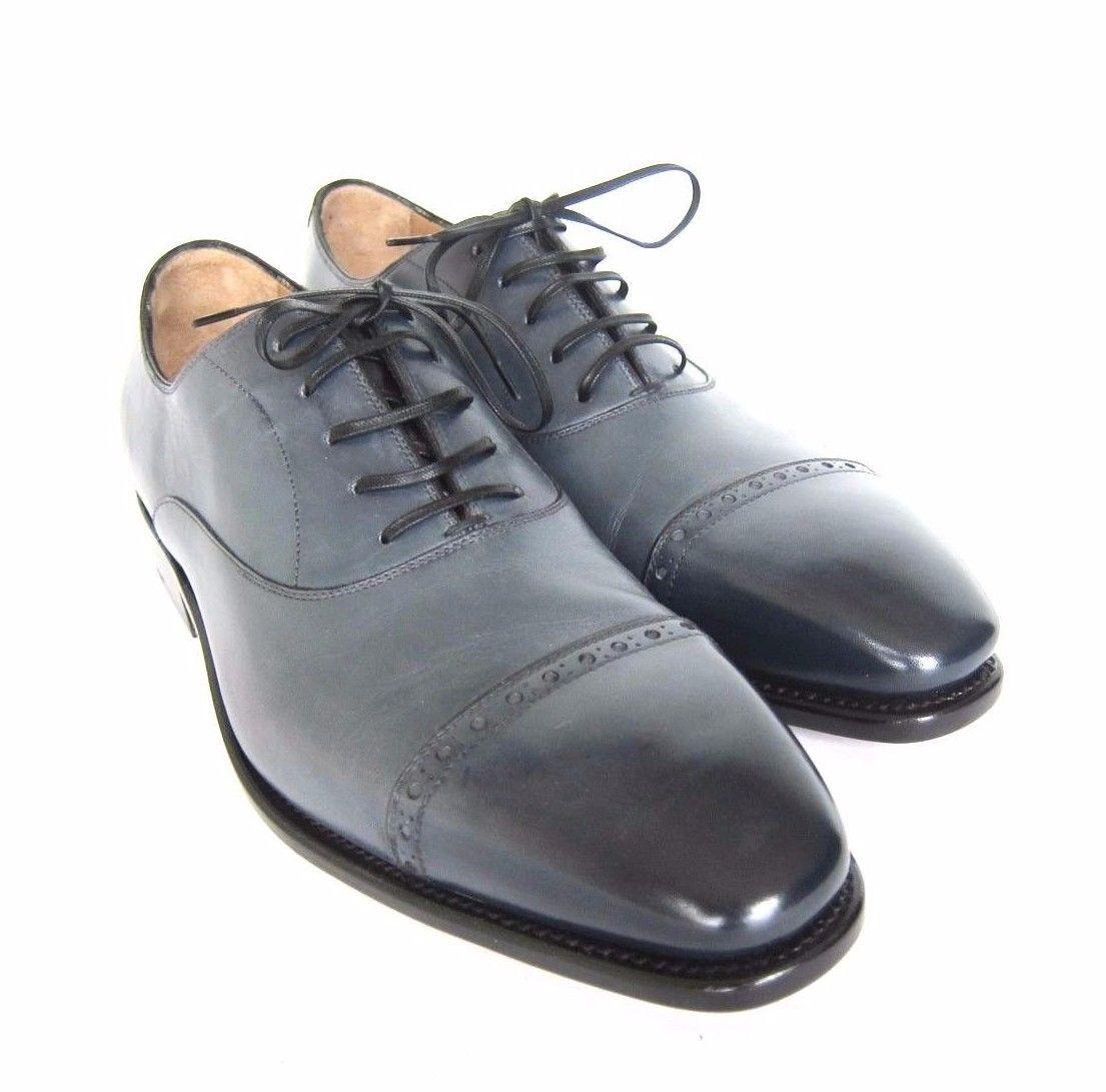 3d67e66e5388 S l1600. S l1600. Previous. S-1806438 New Salvatore Ferragamo Norman Rain  Tramezza Oxford Shoes Size US 9D