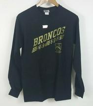 Western Michigan Broncos S NCAA Men's Black Long sleeve sports T-shirt - $19.99