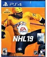 PLAYSTATION 4 - NHL19 - $10.00