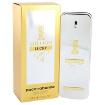Paco Rabanne 1 Million Lucky 3.4 Oz Eau De Toilette Cologne Spray image 6