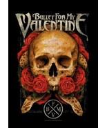 Bullet For My Valentine Poster Flag Serpent Roses - $12.99