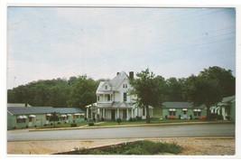 Woods Motor Court Franklin North Carolina postcard - $5.94