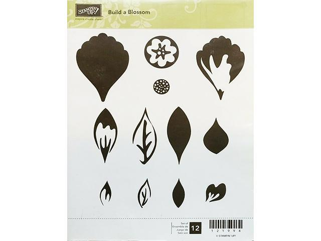 Primary image for Stampin' Up! Build a Blossom Stamp Set and Coordinating Punch #121994