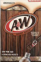A&W Singles To Go Powder Packets - Sugar Free, Non-Carbonated Root Beer ... - $14.99