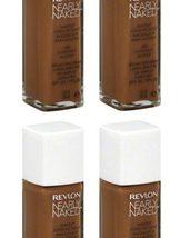 (4-PACK) Revlon Nearly Naked Makeup, SPF 20, Nutmeg 230 - 1 fl oz bottle - $51.85