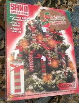 Sand Creations Christmas Ornament Making Kit Includes 8 Ornaments NEW - $15.88