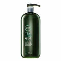 New Paul Mitchell Tea Tree Special Shampoo 33.8oz Liter Factory Sealed - $25.73