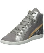 DOLCE VITA WOMEN'S NATTY SNEAKER GREY SUEDE 9.5 M US - $118.79