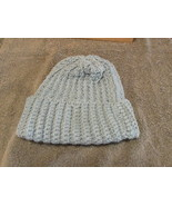 Child's Crocheted Hat Size 5 up - Blue - $4.99