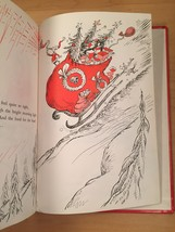 """Vintage """"How the Grinch Stole Christmas"""" red hardcover childrens book image 8"""