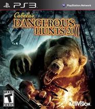Cabelas Dangerous Hunts 2011 - PlayStation 3  - $17.99