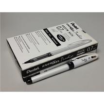 Pentel EnerGel Tradio 0.7mm Rollerball Pen (12pcs), White / Black Ink, B... - $35.99
