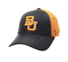 Baylor Bears NCAA Men's Rally Zephyr Stretch Fit Cap, Medium/Large, Forest/Gold  - $14.99