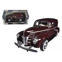 1940 Ford Sedan Delivery Brown 1/24 Diecast Model Car by Motormax 73250brn - $29.91