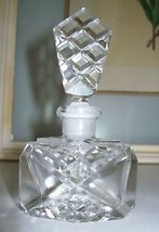"""Vintage Czech Perfume Bottle~Dauber Intact~SIGNED~4"""" Tall~Rare~Very Coll... - $183.99"""