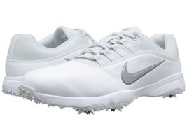 New! Size [12] Medium Men's Nike Air Rival 4 Golf Shoe White - $108.78