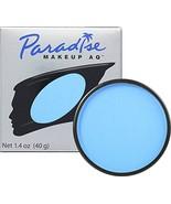 Mehron Makeup Paradise Makeup AQ Face & Body Paint 1.4 oz Light Blue - $16.44