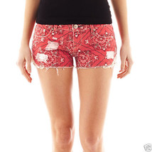 Vanilla Star Side-Crochet Shorts Juniors Sizes 0, 1 New Msrp $36.00 - $14.99