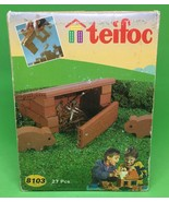 Teifoc #8103 27 pcs. stable New, Sealed Made in Spain building set - $14.03