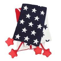 Cotton Baby Warm Scarf Star Pattern Unisex Neckerchief Muffler Bandelet image 2