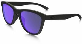 Oakley Moonlighter POLARIZED Sunglasses OO9320-09 Matte Black W/ Violet ... - $59.39