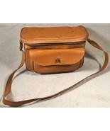 VINTAGE 1950 BROWN VINYL CAMERA SHOULDER BAG / CASE - $34.64