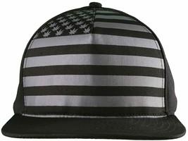 Dope Couture Pledge Legion USA Weed Marijana Stars Stripes Flag Snapback Hat image 2