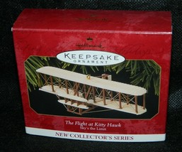 1997 Hallmark Keepsake The Flight at Kitty Hawk Collectors Xmas Ornament - $23.76