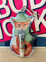 Bath & Body Works Tree Ornament Gift Lip Gloss Merry Cookie Fox New Christmas - $11.78