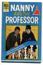 NANNY & THE PROFESSOR #2 1970-DELL COMIC-TV PHOTO COVER VG - $22.70