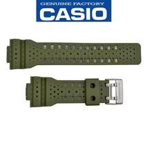 Genuine CASIO G-SHOCK Watch Band Strap GA-110LP-3A Original Green Rubber... - $55.95