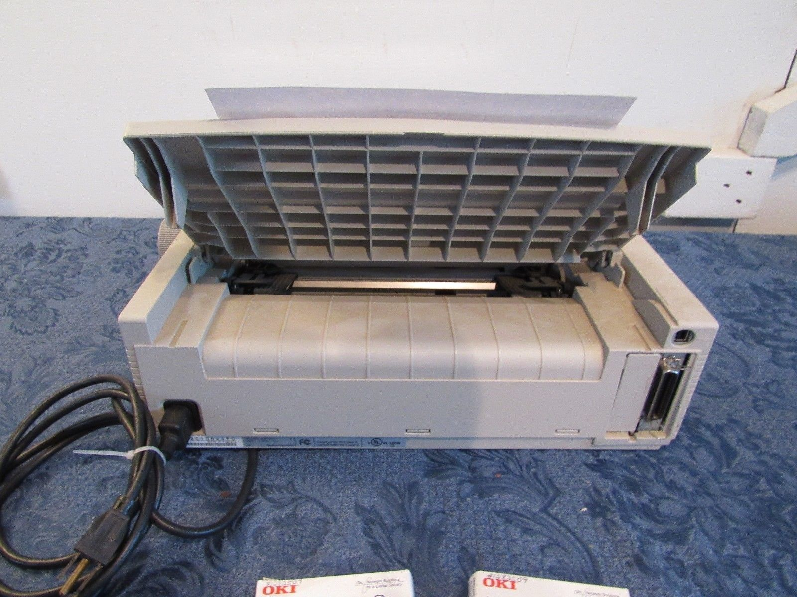 Oki Microline 320 Turbo 9 Pin Printer With Extras