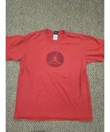 Nike Men's Jordan Air Jumpman Red T-Shirt Medium Good Condition  - $17.81