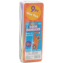 Foam Door Hangers Assorted Colors - $7.55